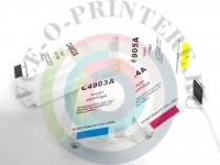 СНПЧ ( Система непрерывной подачи чернил ) HP OfficeJet Pro 8000/ 8500 C авточипом Вид  5