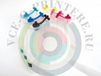 СНПЧ (Система непрерывной подачи чернил ) на Epson Stylus Photo RX700 Вид  2