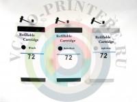 ПЗК (Перезаправляемый картридж) для плоттера HP DesignJet T790 T770 T1100 T610 series Вид  3