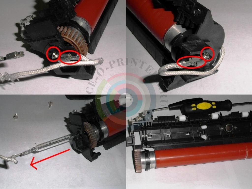 инструкция по разбору принтера hp 2055