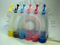 Пластик СНПЧ для Epson 6-цветный без чипа Вид  2