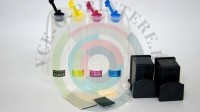 СНПЧ в сборе для принтеров HP с картриджами 121 black и 121 color