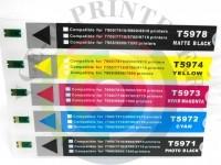 ПЗК (Перезаправляемый картридж) для Epson Stylus Pro 7700/ 9700/ 7710 Вид  5
