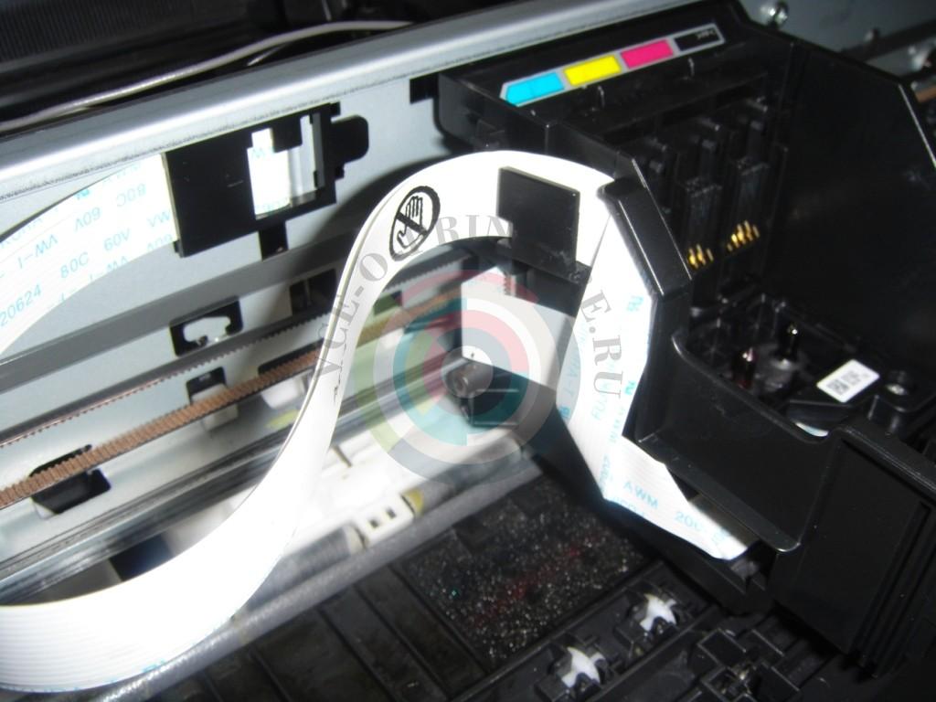 Промывка печатающей головки Epson SX125, SX130