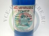 Тонер цветной Samsung CLP-300/ 310, CLX-2160/ 3160 Cyan Вид  4