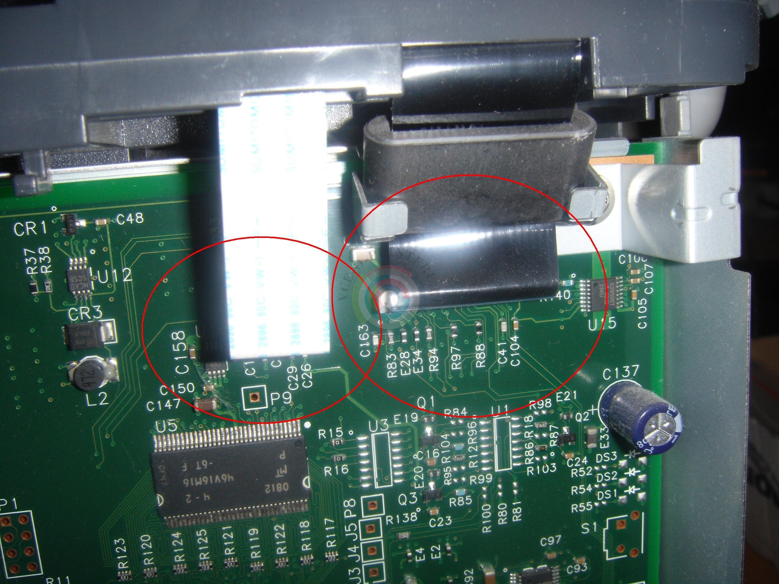 hp 2055 замена термопленки инструкция