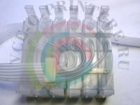 Пластик СНПЧ для Epson 6-цветный без чипа Вид  5