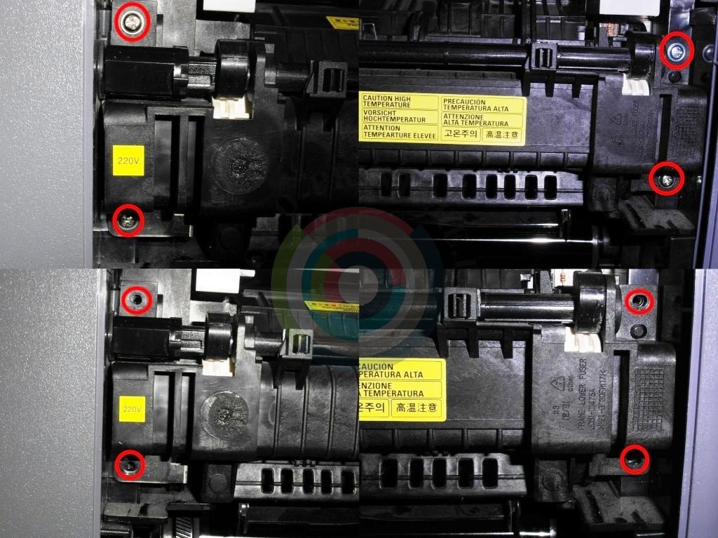 Разборка термоблока Samsung