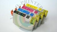 Набор картриджей T0921-T0924 для струйного принтера Epson C91 / CX4300 / T26 / T27 / TX106 / TX109 / TX117 / TX119