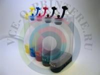 Пластик СНПЧ для Canon, HP 5-цветный без картриджей Вид  3