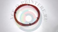 Пластик ABS для 3д ручки диаметр 1,75mm 10 метров цвет: красный