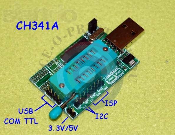 Программатор ch341a своими руками