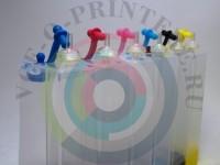 Пластик СНПЧ для Epson 6-цветный без чипа Вид  3