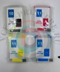 ПЗК (Перезаправляемый картридж)  для плоттера HP DesignJet 110 / 100 с авточипом