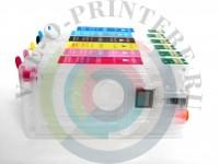 Перезаправляемые картриджи (ПЗК)для принтера Epson Stylus Photo RX700 Вид  5