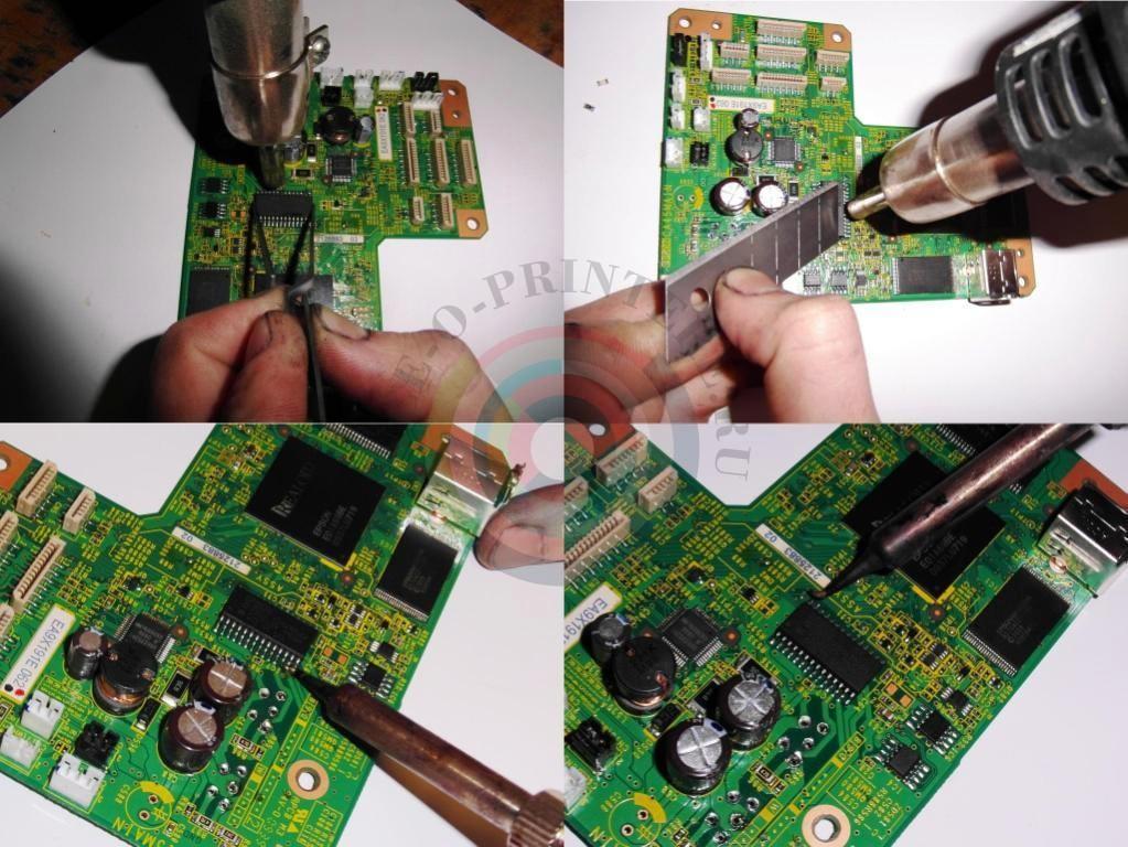 Замена шифратора E09A7218A
