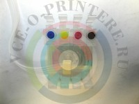 Пластик СНПЧ 4-цветный без чипа Вид  4