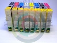 Перезаправляемые картриджи на Epson Photo R800/ R1800 Вид  3