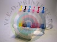 Пластик СНПЧ для Epson 6-цветный без чипа Вид  1