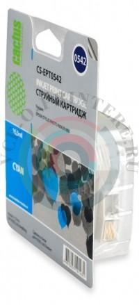 Картридж T0542 Cyan для EPSON Stylus Photo R800 совместимый