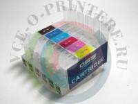 Комплект СНПЧ картриджей для Epson R200/ 220/ 300 Вид  2