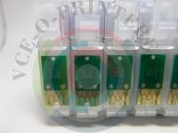 Перезаправляемые картриджи (ПЗК)для принтера Epson R2880 Вид  4
