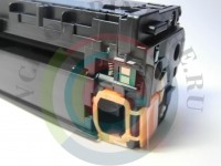 Картридж HP CE322A Вид  5