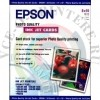 "Фотобумага Epson Photo Quality Ink Jet Paper 10""x8"", 185г/м2, 30 листов"