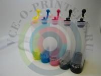 Пластик СНПЧ для Epson 5-цветный без чипа Вид  2