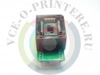 Адаптер DIP32 - > PLCC32 Вид  1