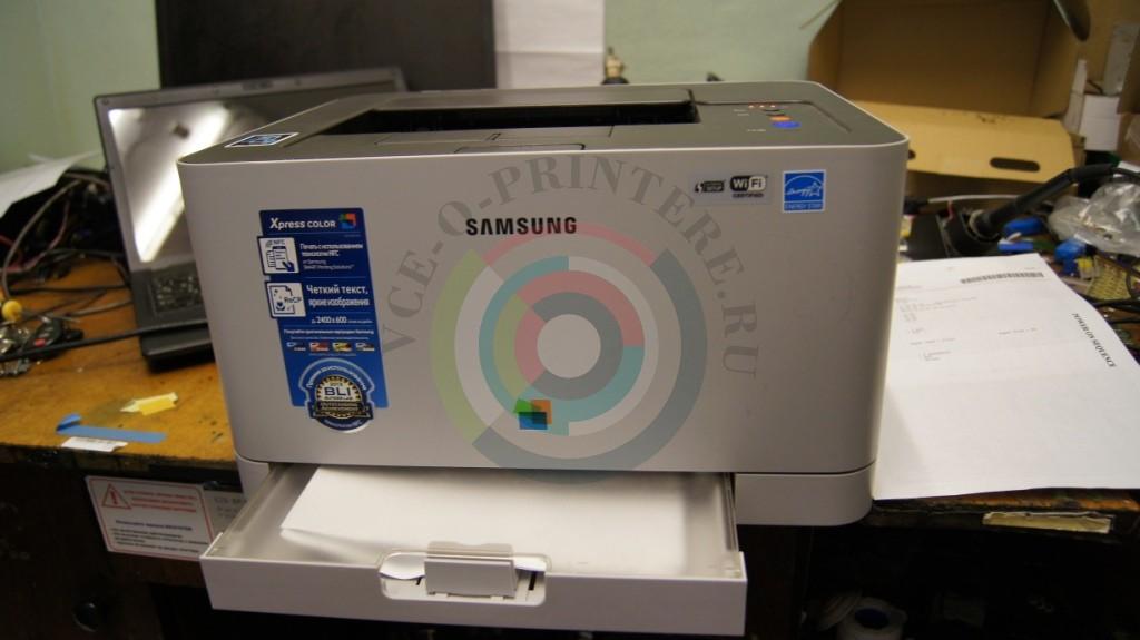 Как сделать принтер samsung 406