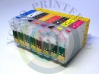 Перезаправляемые картриджи (ПЗК) для принтера Epson R1900 Вид  2
