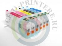 Перезаправляемые картриджи (ПЗК)для принтера Epson Stylus Photo RX700 Вид  1