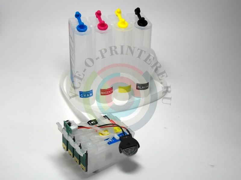 Правильное расположение цветов в пластике СНПЧ