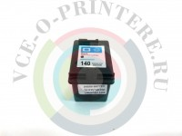 Картридж черный HP 140 Вид  4