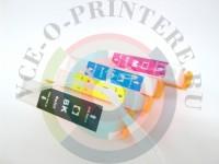 СНПЧ ( Система непрерывной подачи чернил ) HP 655 x 4 с чипами Вид  3