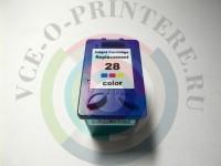 Картридж цветной HP 28 для струйного принтера Вид  4