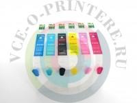 Перезаправляемые картриджи (ПЗК)для принтера Epson Stylus Photo RX700 Вид  2