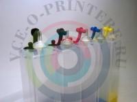 Пластик СНПЧ для Epson 5-цветный без чипа Вид  3