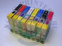 Перезаправляемые картриджи на Epson Photo R800/ R1800 Вид  4