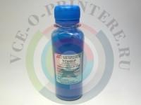 Тонер цветной Samsung CLP-300/ 310, CLX-2160/ 3160 Cyan Вид  1