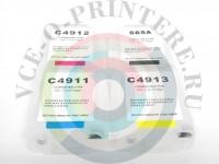 ПЗК для плоттера HP DesignJet 510 с авточипом Вид  3