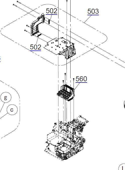 T3000 printhead