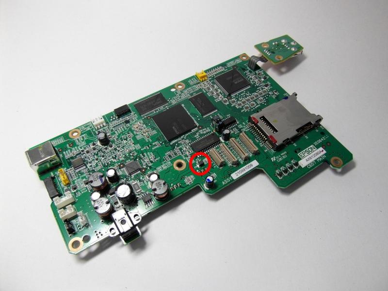 Предохранитель F3 в Epson Stylus CX4900