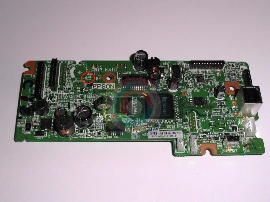 Предохранитель F1 Epson SX430W