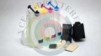 СНПЧ в сборе для принтеров HP с картриджами 21 black и 22 color