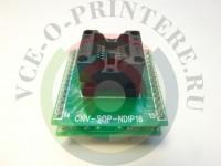 Адаптер DIP16-SOP8/ SOP14/ SOP16 (150 mil) вид 2