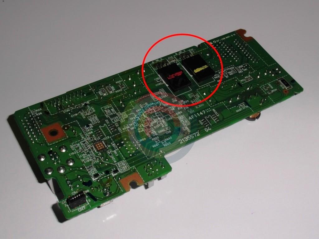 Транзисторы C6144 и A2222  Epson SX430W