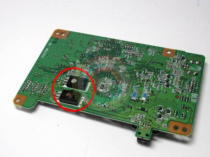 Транзисторы A2099 и C5888 в Epson CX3700