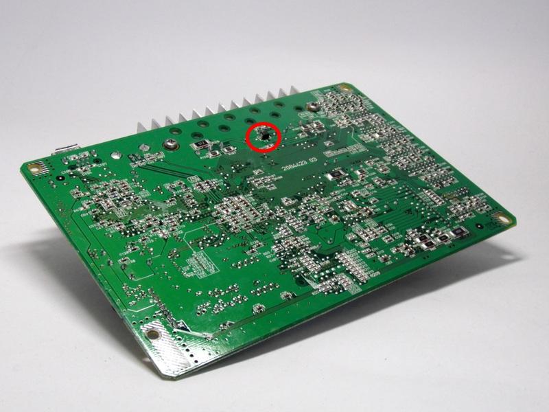 Предохранитель F2 в Epson Stylus Photo R800